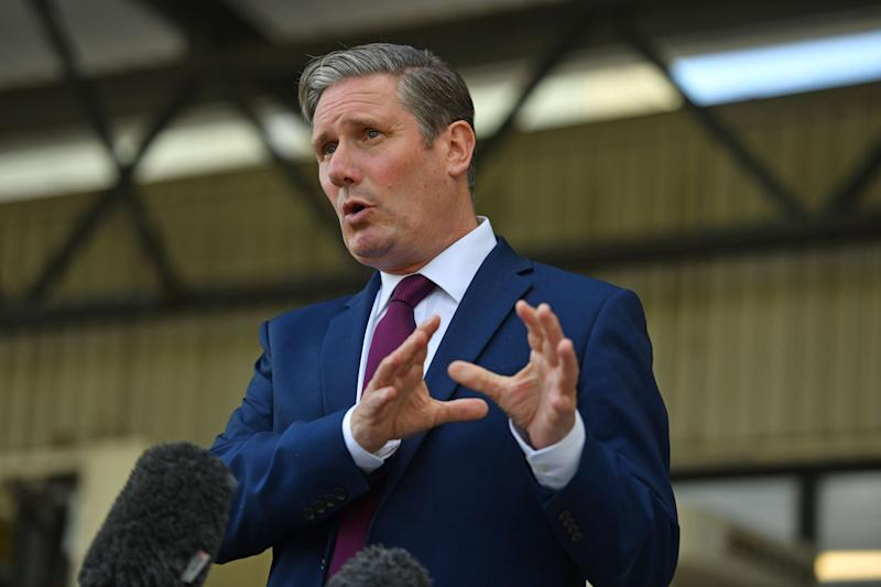 Labour leader Keir Starmer (Photo: Jacob King - PA Images via Getty Images)