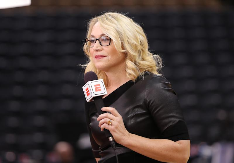 ESPN's Doris Burke reveals COVID-19 diagnosis, is now symptom