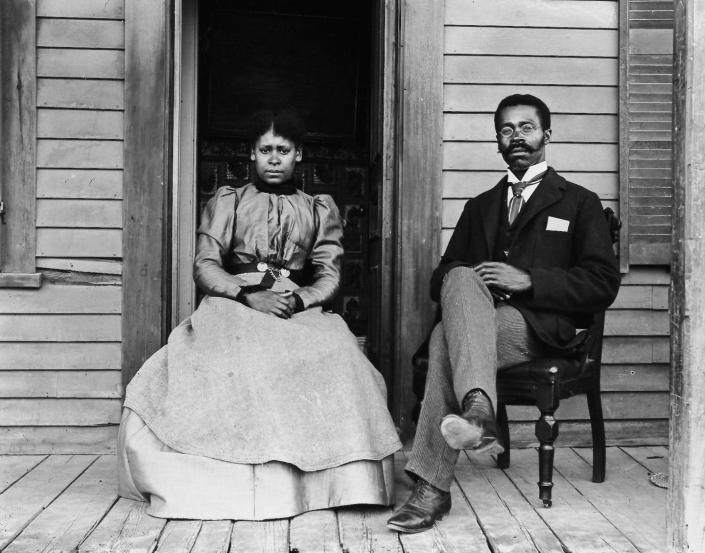 """<span class=""""caption"""">Portrait of Betty and Willis Coles by William Bullard from about 1902.</span> <span class=""""attribution""""><a class=""""link rapid-noclick-resp"""" href=""""http://www.bullardphotos.org/gallery/#jp-carousel-657"""" rel=""""nofollow noopener"""" target=""""_blank"""" data-ylk=""""slk:Courtesy of Frank Morrill, Clark University and the Worcester Art Museum"""">Courtesy of Frank Morrill, Clark University and the Worcester Art Museum</a></span>"""