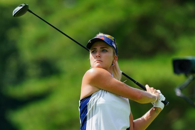 """""""I was so worried about him,"""" said Lexi Thompson as her caddie began to feel unwell"""