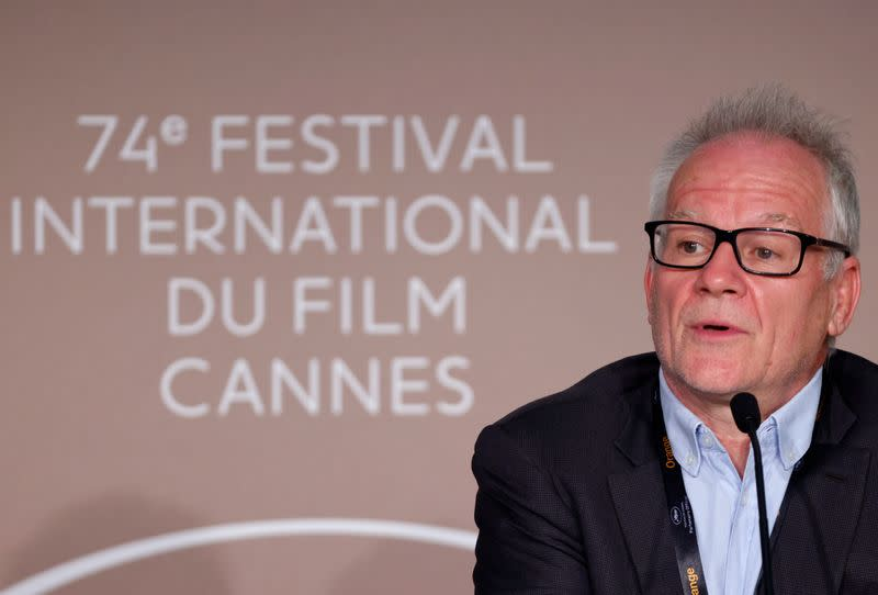 The 74th Cannes Film Festival - Cannes Film festival general delegate Thierry Fremaux