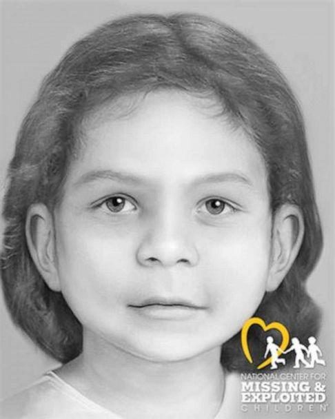 PHOTO: 'The Middle Child' was found on May 9, 2000 on private property next to Bear Brook State Park in Allenstown, NH. She was 2 to 4 years old at the time of her death, placing her birthdate between 1975-1977.  (National Center for Missing and Exploited Children)