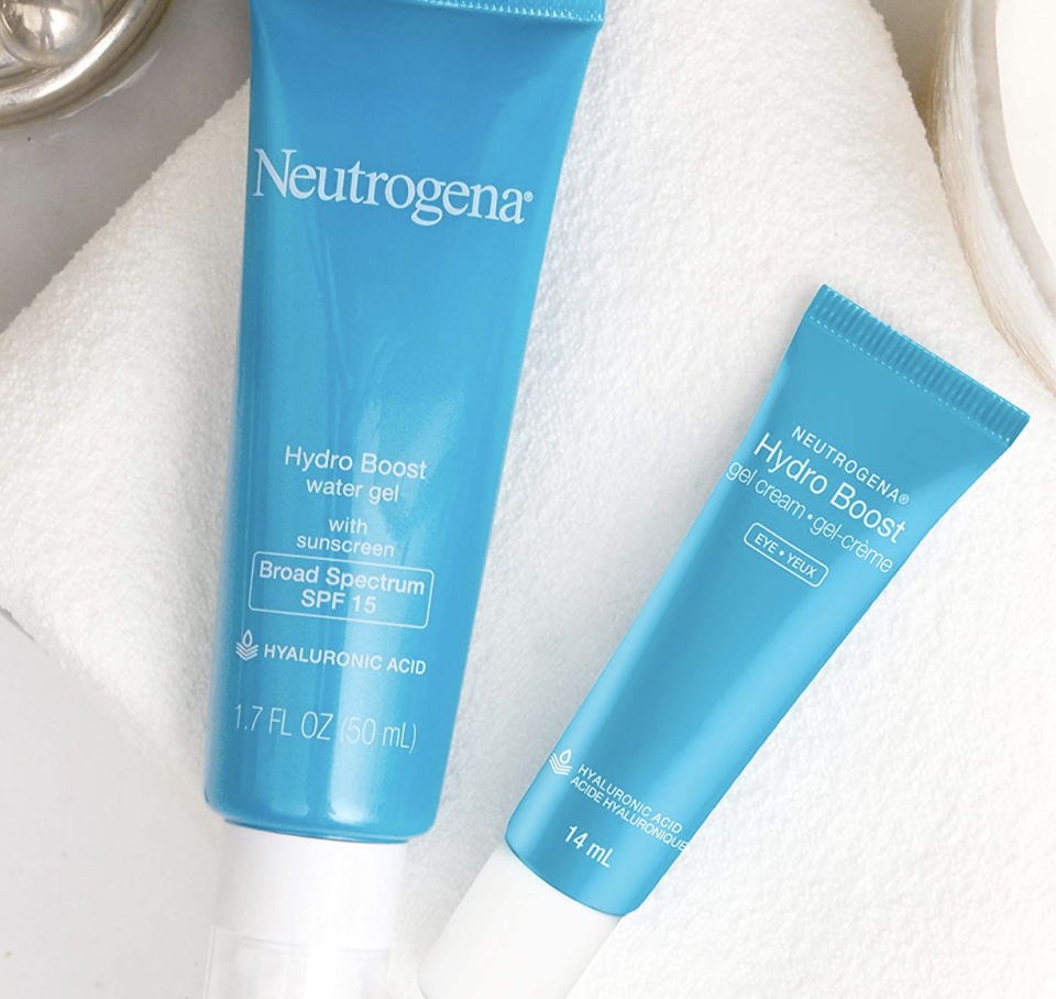 Neutrogena Hydro Boost products have a gel-like consistency. (Image via Amazon)