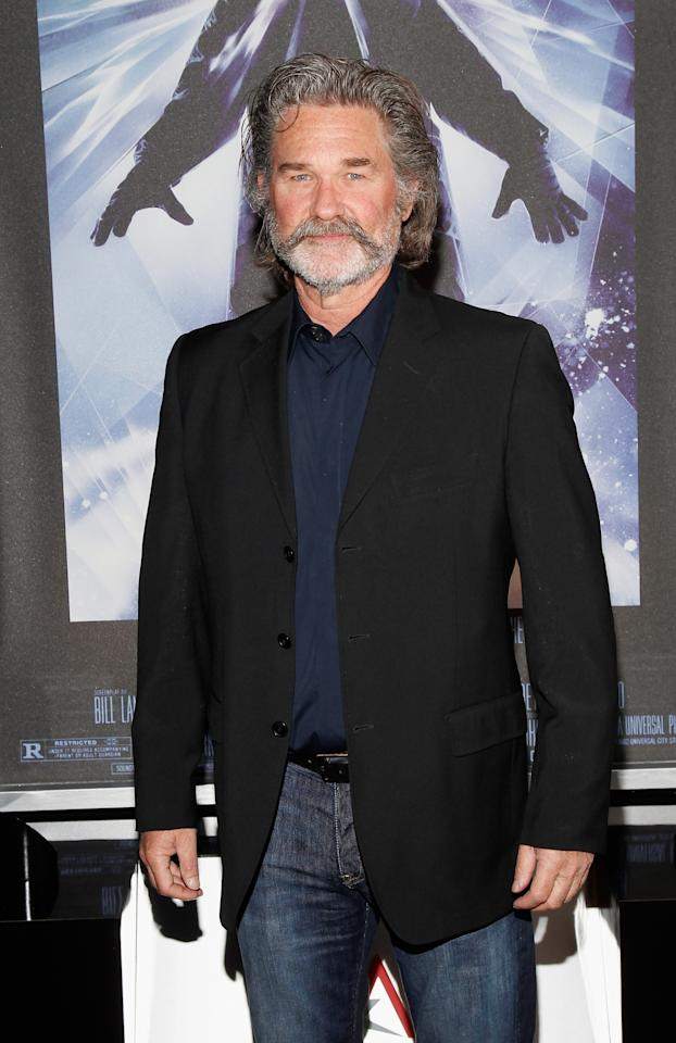 "HOLLYWOOD, CA - APRIL 24:  Actor Kurt Russell attends ""The Thing"" at Target Presents AFI's Night at the Movies at ArcLight Cinemas on April 24, 2013 in Hollywood, California.  (Photo by Joe Kohen/Getty Images for AFI)"