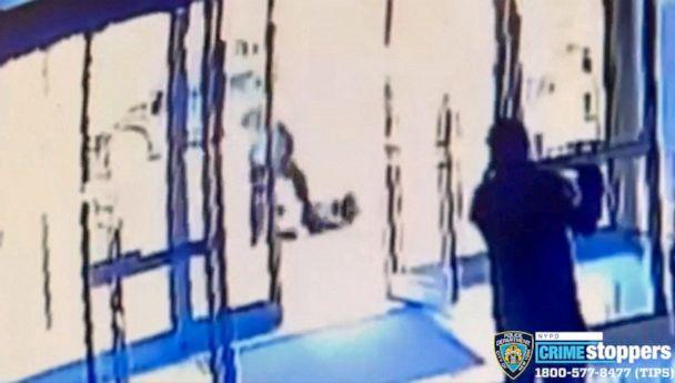 PHOTO: In this file image released on March 30, 2021, on its Twitter feed (@NYPDTips) by the New York Police Department Crime Stoppers shows a man assaulting a 65-year-old Asian American woman, Vilma Kari, on March 29, 2021. (@NYPDTips/AFP via Getty Images, FILE)