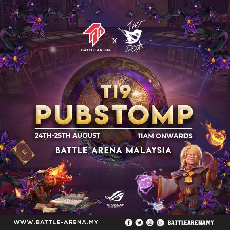 "Battle Arena ""Acolyte of the Lost Arts"" TI9 Pubstomp (Malaysia)"