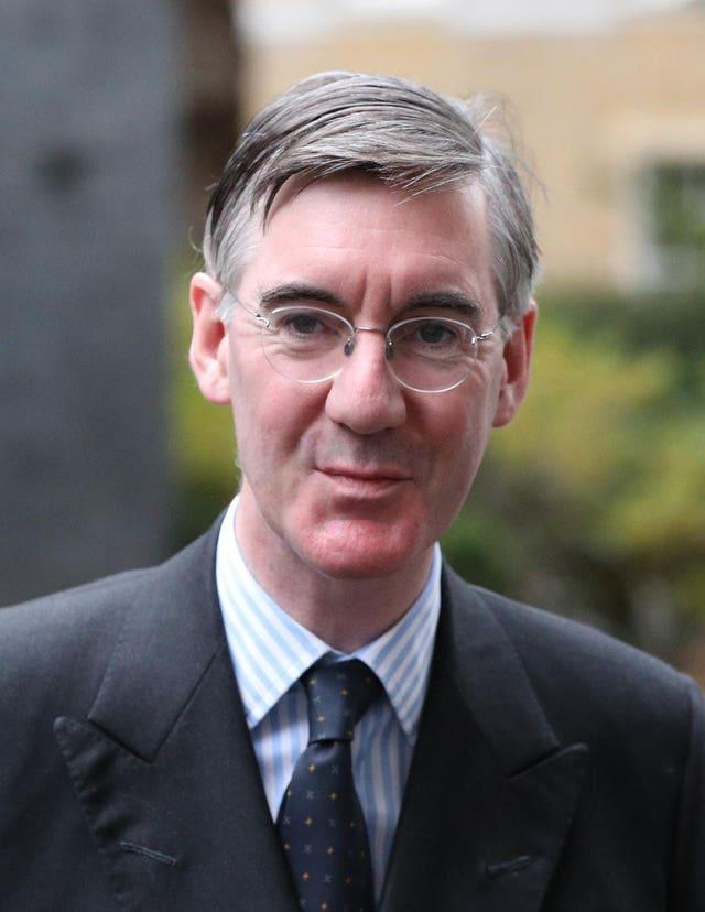 Jacob Rees-Mogg makes an unlikely rap artist