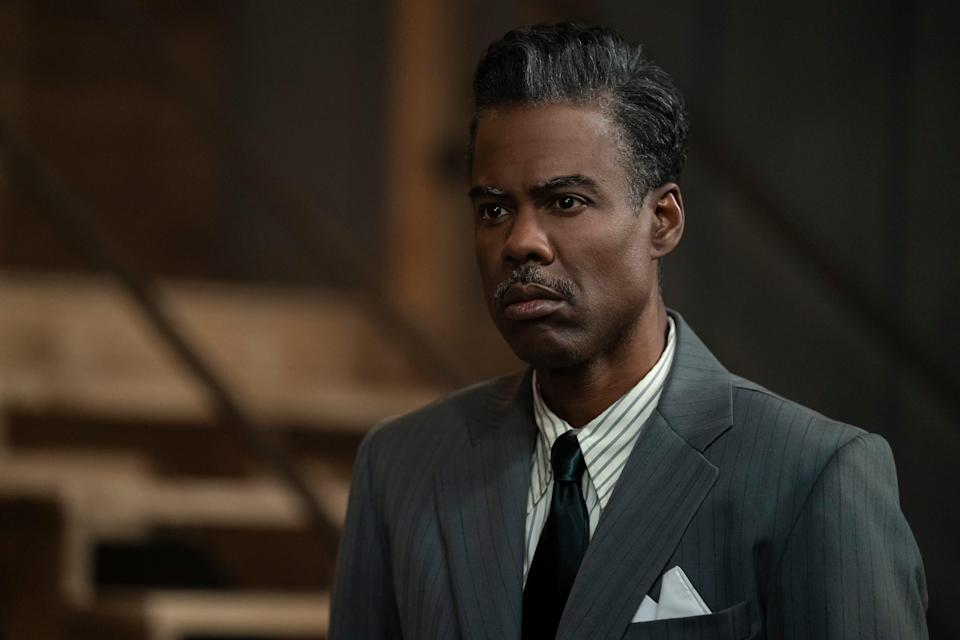 """Comedian Chris Rock in the fourth season of the FX TV show """"Fargo."""""""