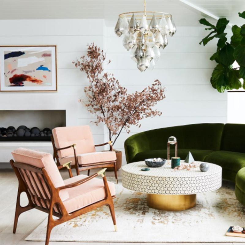 3 home decor trends blowing up on pinterest for Room decorating ideas yahoo answers