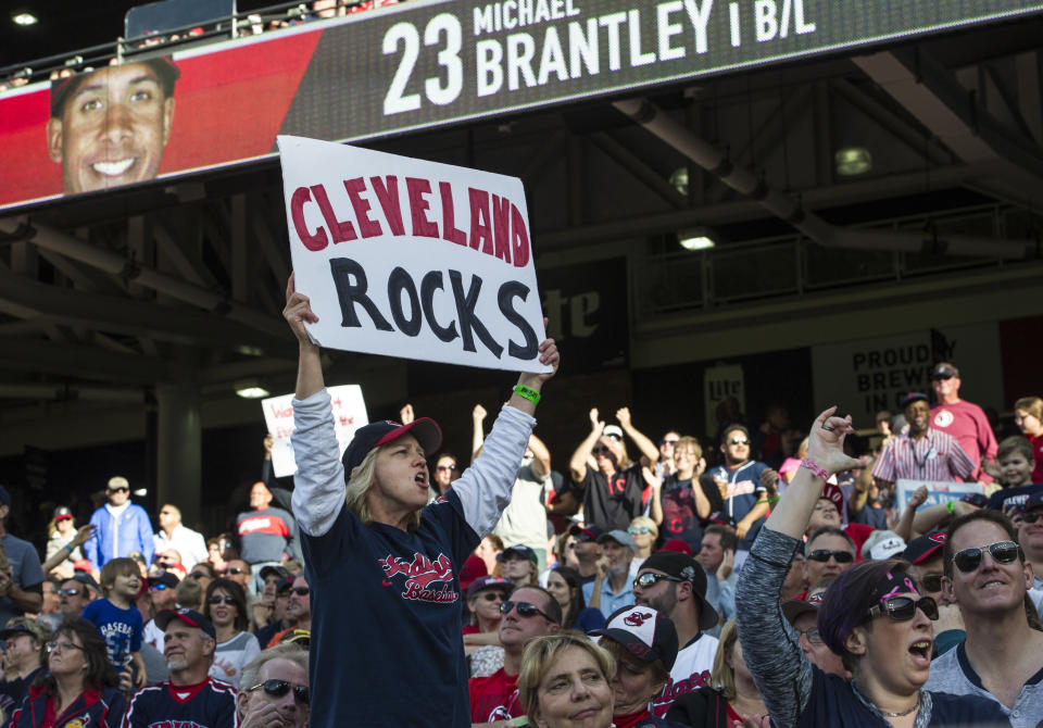 Cleveland fans are no doubt ready for the arrival of Shane Bieber, one of the organization's most interesting prospects. (AP Photo/Phil Long)