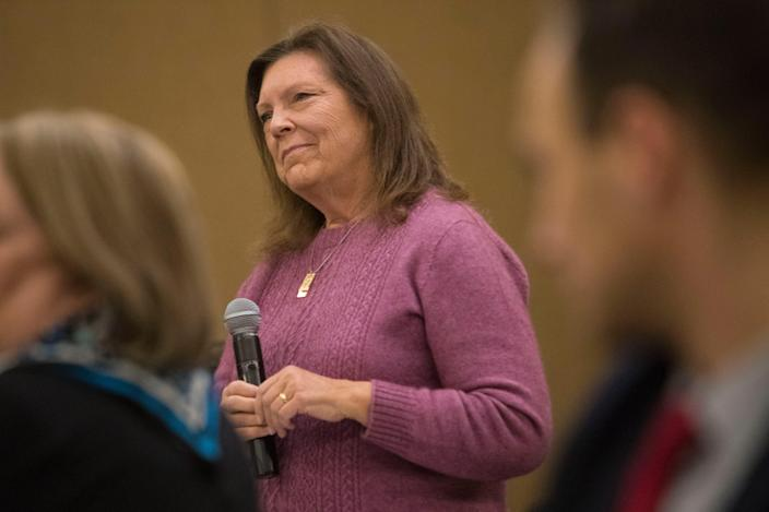 Montana State Rep. Rhonda Milstead sponsored the state's bill to ban transgender girls from competing on girls' sports teams.