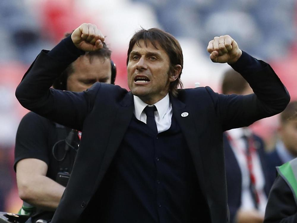 Antonio Conte's side bounced back at Wembley after a disappointing start to the season (AFP/Getty Images)