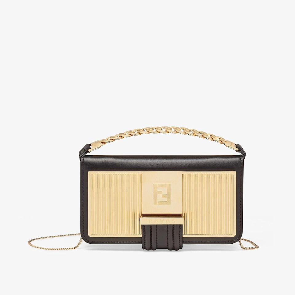 """<p><a class=""""link rapid-noclick-resp"""" href=""""https://go.redirectingat.com?id=127X1599956&url=https%3A%2F%2Fwww.fendi.com%2Fgb%2Fwallets-small-accessories-woman%2Fsmartphone-case-7ar924aejhf17er&sref=https%3A%2F%2Fwww.harpersbazaar.com%2Fuk%2Fculture%2Flifestyle_homes%2Fg26422856%2Ftech-gadgets-to-buy%2F"""" rel=""""nofollow noopener"""" target=""""_blank"""" data-ylk=""""slk:SHOP NOW"""">SHOP NOW</a></p><p>Fendi has partnered with cult accessories brand Chaos on the ultimate collection of luxury kit for your tech - from laptop covers and headphone holders, to phone cases, neck straps and charms. But our favourite piece has to be this chic phone holder, which doubles as a mini handbag. In nappa leather, trimmed with metal and a diamond-effect gold finish, it can be worn cross-body or held by the chunkier hand strap. Tech accessories don't get much more luxe than this. </p><p>Smartphone case, £790, <a href=""""https://go.redirectingat.com?id=127X1599956&url=https%3A%2F%2Fwww.fendi.com%2Fgb%2Fwallets-small-accessories-woman%2Fsmartphone-case-7ar924aejhf17er&sref=https%3A%2F%2Fwww.harpersbazaar.com%2Fuk%2Fculture%2Flifestyle_homes%2Fg26422856%2Ftech-gadgets-to-buy%2F"""" rel=""""nofollow noopener"""" target=""""_blank"""" data-ylk=""""slk:Fendi x Chaos"""" class=""""link rapid-noclick-resp"""">Fendi x Chaos</a></p>"""