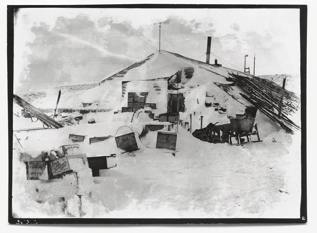"Winter quarters: the expedition hut, Cape Evans, October 1911.<br><br>(Photo credit: ©2011 Richard Kossow)<br><br>For more information on ""The Lost Photographs of Captain Scott"" and where to buy the book, visit <a target=""_blank"" href=""http://www.hachettebookgroup.com/books_9780316178501.htm"">hachettebookgroup.com</a>"