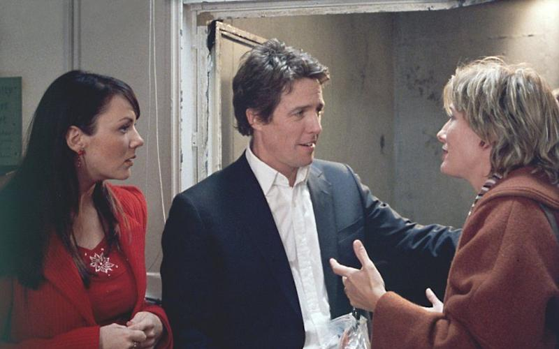 Alongside Hugh Grant and Emma Thompson in Love Actually - Credit: Universal Pictures