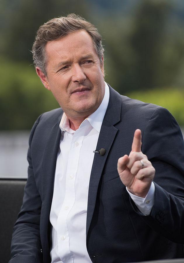 Piers refuses to back down. Source: Getty