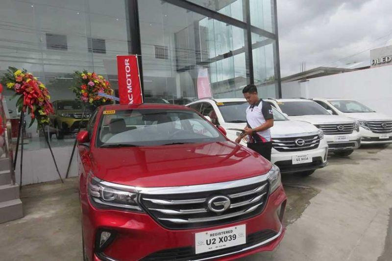 GAC Motor launches in Cebu with new subcompact crossover