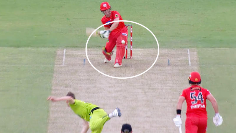 Sam Harper, pictured here in action for the Melbourne Renegades.