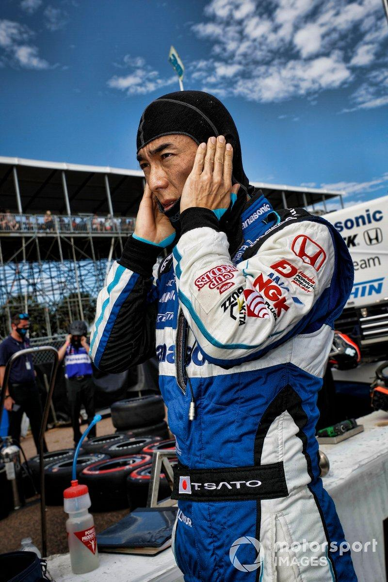 "Takuma Sato, Rahal Letterman Lanigan Racing Honda<span class=""copyright"">Michael L. Levitt LAT Photo USA</span>"