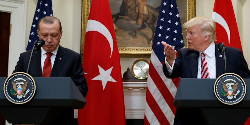 White House denounces Turkey tariffs on USA products