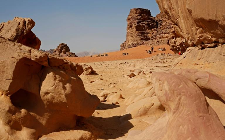 Jordan's Wadi Run desert, also knows as Valley of the Moon, has served as a backdrop for many Hollywood blockbusters including Lawrence of Arabia and the last episode of the Star Wars saga