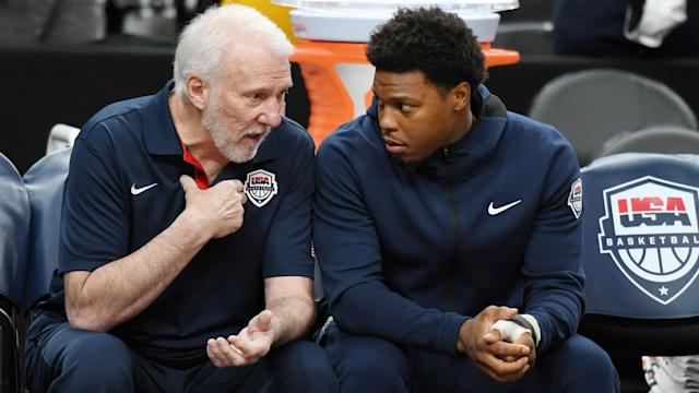 Toronto Raptors guard Kyle Lowry announced his withdrawal from Team USA on Monday, citing health reasons.