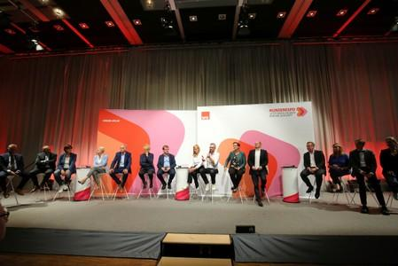 Germany's SPD presents leadership candidates in Saarbruecken