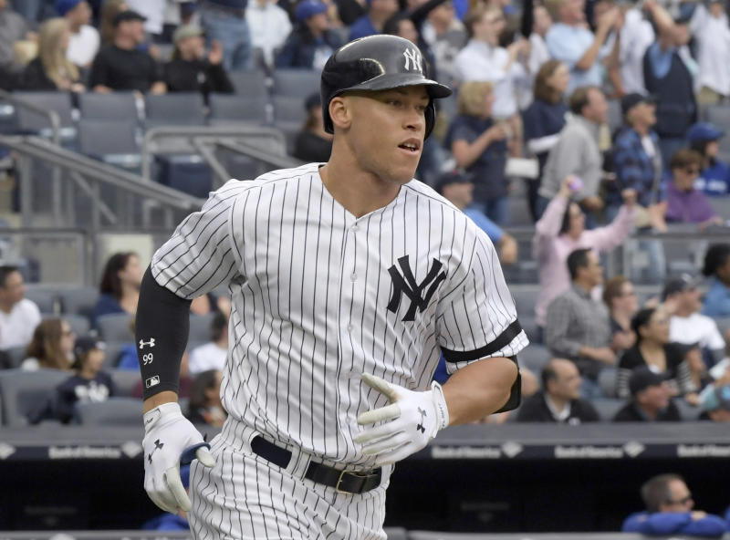 Can Aaron Judge power the Yankees all the way to the World Series? (AP)