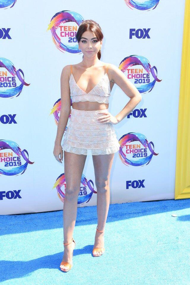Sarah Hyland at FOX's Teen Choice Awards 2019