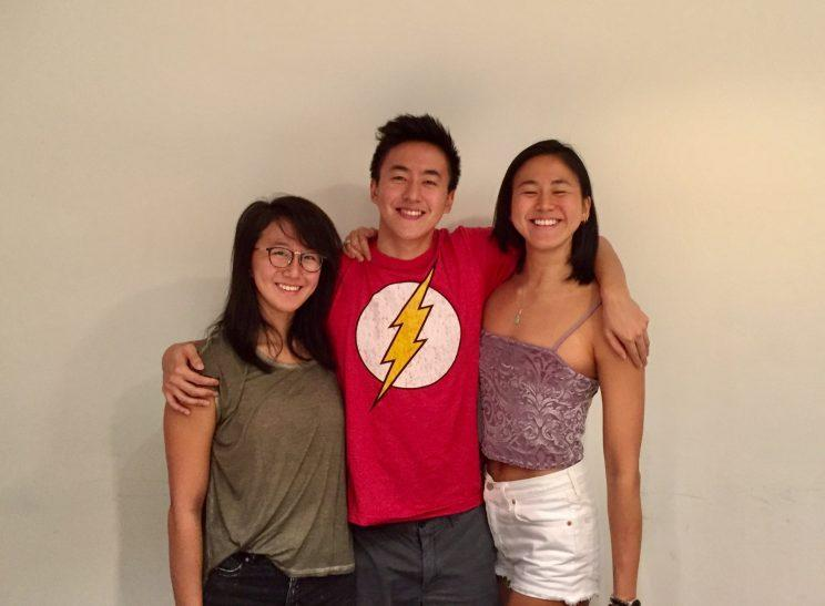 National swimmer Quah Zheng Wen and his sisters
