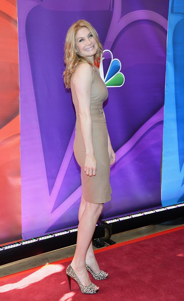 NEW YORK, NY - MAY 13:  Actress Elizabeth Mitchell attends 2013 NBC Upfront Presentation Red Carpet Event at Radio City Music Hall on May 13, 2013 in New York City.  (Photo by Slaven Vlasic/Getty Images)