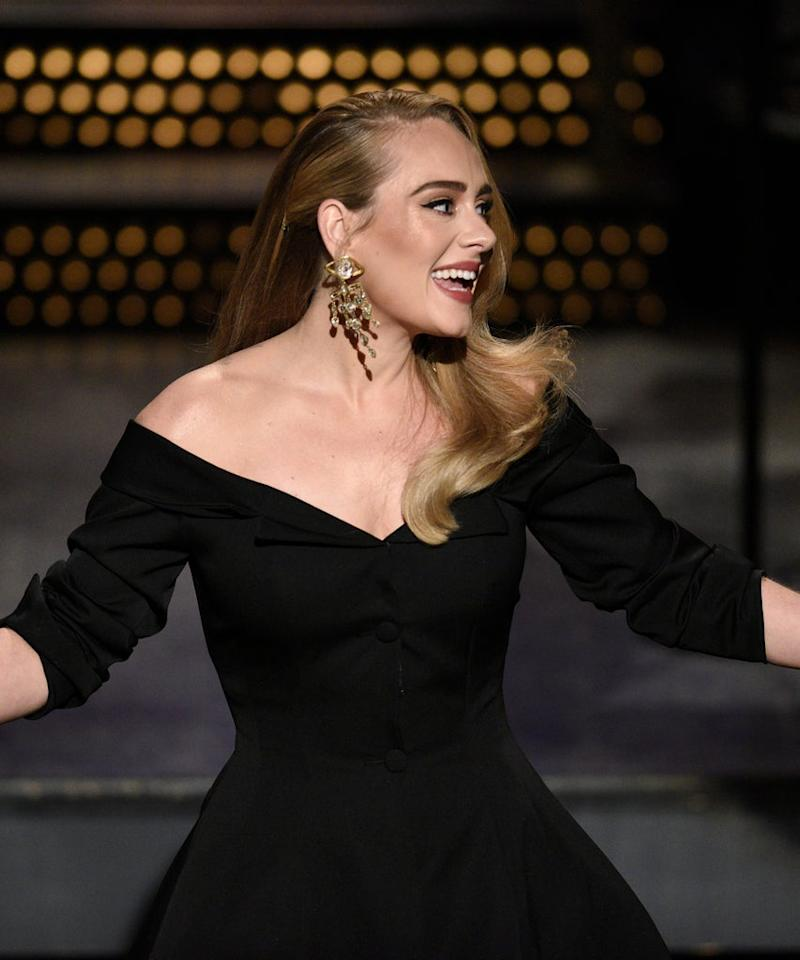 Adele Showed Off Long, Shiny Blonde Hair On SNL — & Fans Are Raving About It