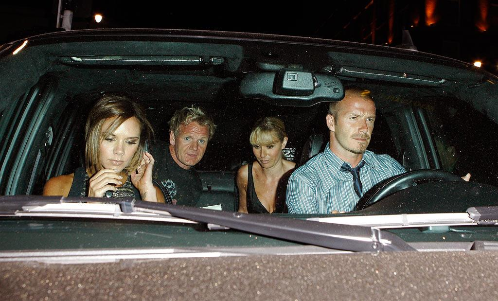 "We wouldn't want ""Hell's Kitchen"" tyrant Gordon Ramsay as our back seat driver! Maciel/<a href=""http://www.x17online.com"" target=""new"">X17 Online</a> - August 11, 2008"