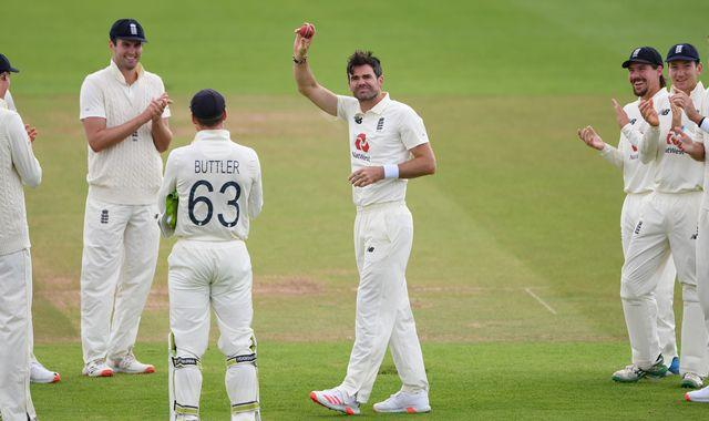 James Anderson becomes first fast bowler to take 600 Test wickets