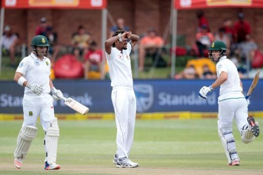 Sri Lanka set 488 to win in first S. Africa Test