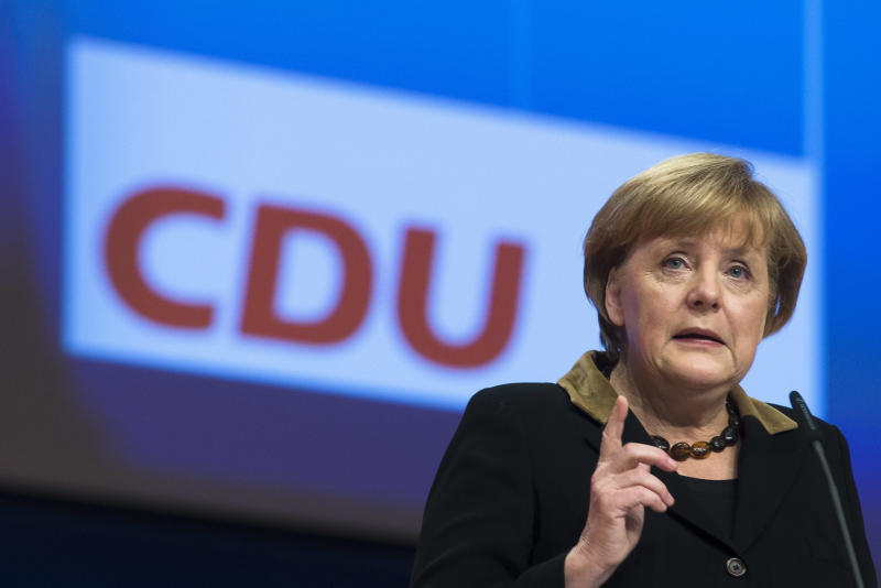 Germany's Merkel sets stage for 2013 elections