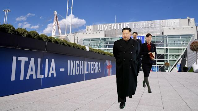 The politician has just returned from the East Asian country and says that the supreme leader is an avid follower of the Italian top flight