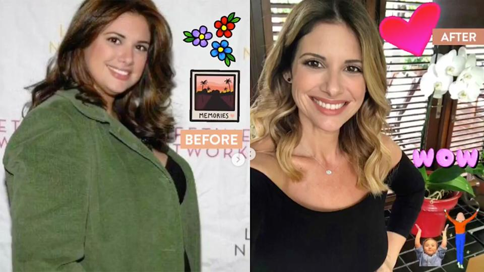 Alessandra Rampolla before and after photos weight loss