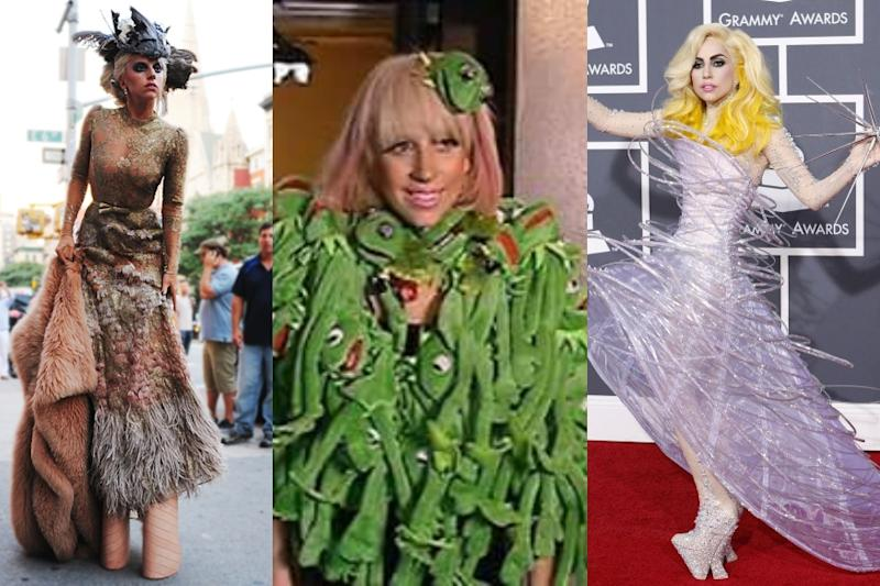 Happy Birthday Lady Gaga: 5 Unforgettable and Outrageous Fashion Outings