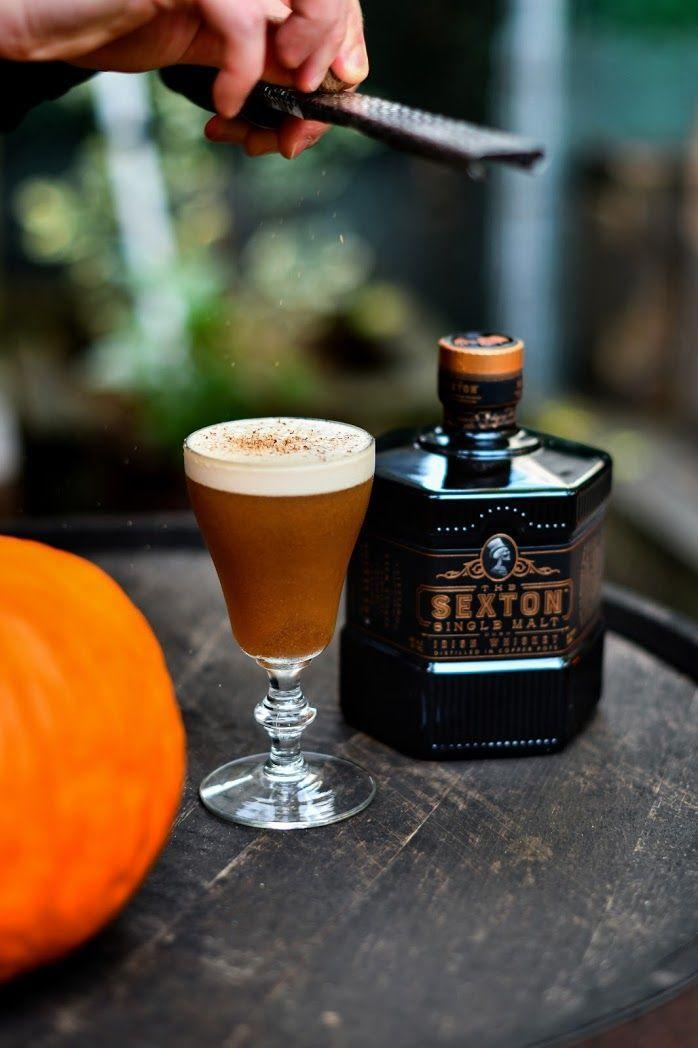 <p><strong>Ingredients</strong></p><ol><li>5 oz The Sextonwhiskey<br>.5 oz Benedictine <br>.75 oz cold brew coffee<br>1 tsp maple<br>1 egg white</li></ol><p><strong>Instructions</strong></p><p>Shake vigorously with ice, strain into a large coupe. Garnish with grated cinnamon.</p><p>B<em>y Garret Richard</em></p>