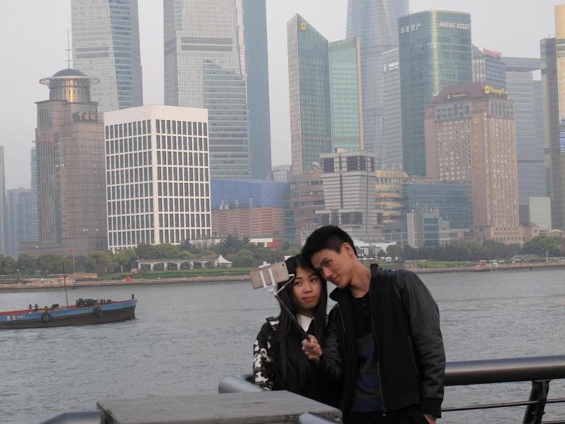 Worth the wait: the view from the Bund in Shanghai: Simon Calder