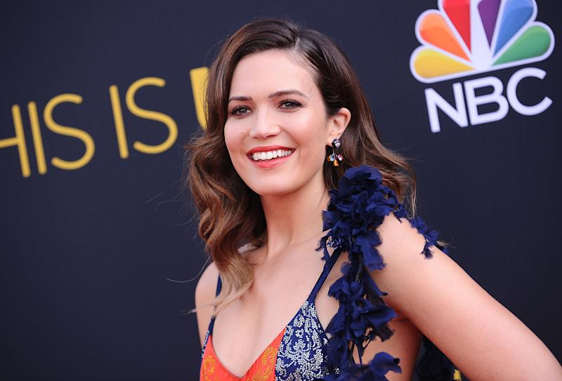 """Moore plays a mother of three named Rebecca Pearson on """"This Is Us."""" (Jason LaVeris via Getty Images)"""
