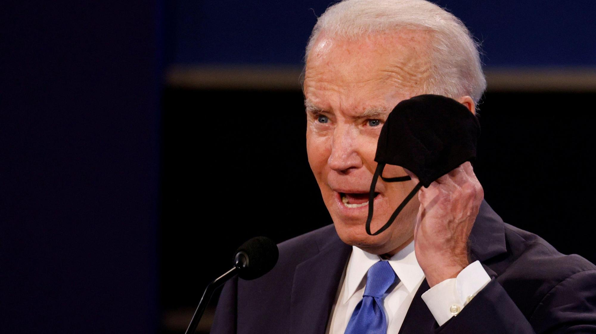 Joe Biden: GOP Lawmakers Who Didn't Wear Masks During Capitol Riot Need To 'Grow Up'