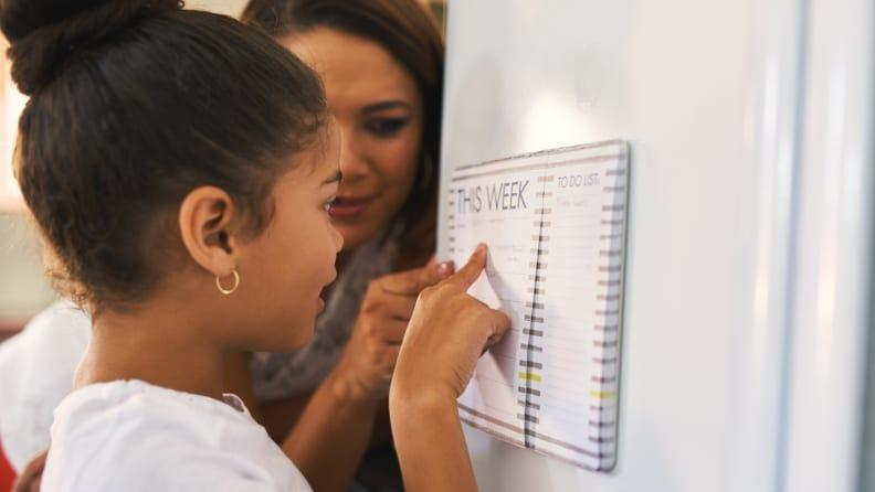 Add consistency to your child's schedule with a to-do list.