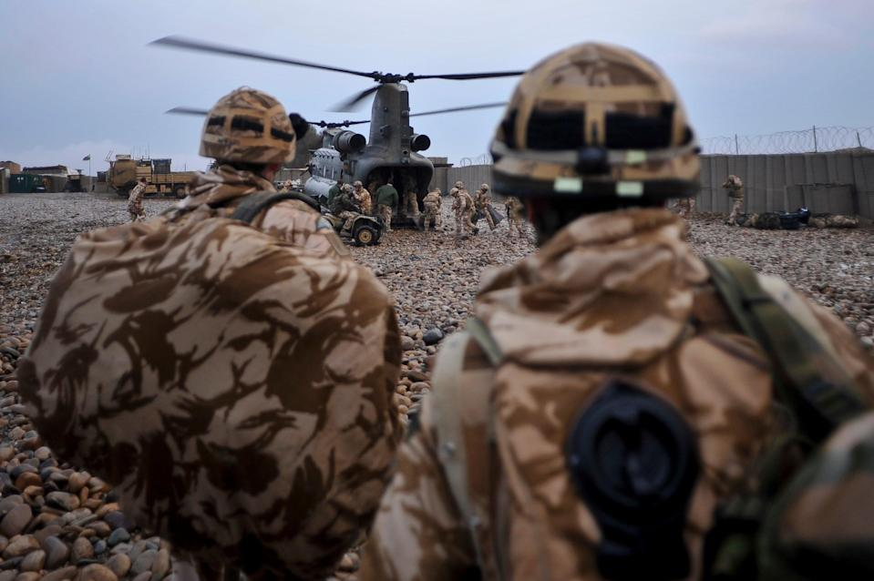 Nearly a quarter of service personnel are yet to receive a vaccine (PA/Ben Birchall) (PA Archive)