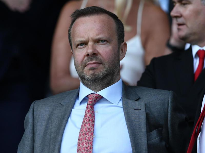 Manchester United executive vice-chairman Ed Woodward is under pressure: Getty