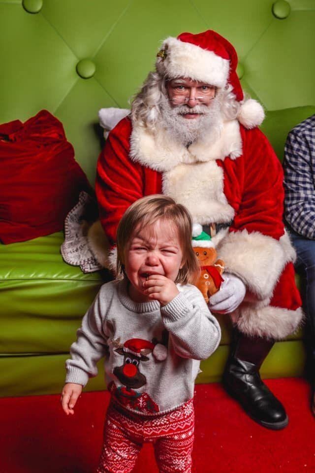 Everyone in this photo from Ottawa mom Jennifer Fenwick hates Santa.
