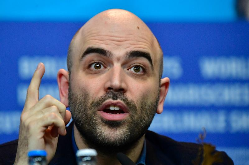 "Roberto Saviano, author of  bestseller ""Gomorrah"" and new film ""Piranhas"", has Italian police protection because of his anti-mafia writings"