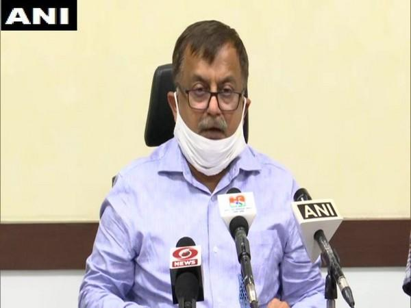 Uttar Pradesh, Additional Chief Secretary, Home Avnish Kumar Awasthi during press conference in Lucknow on Sunday. Photo/ANI