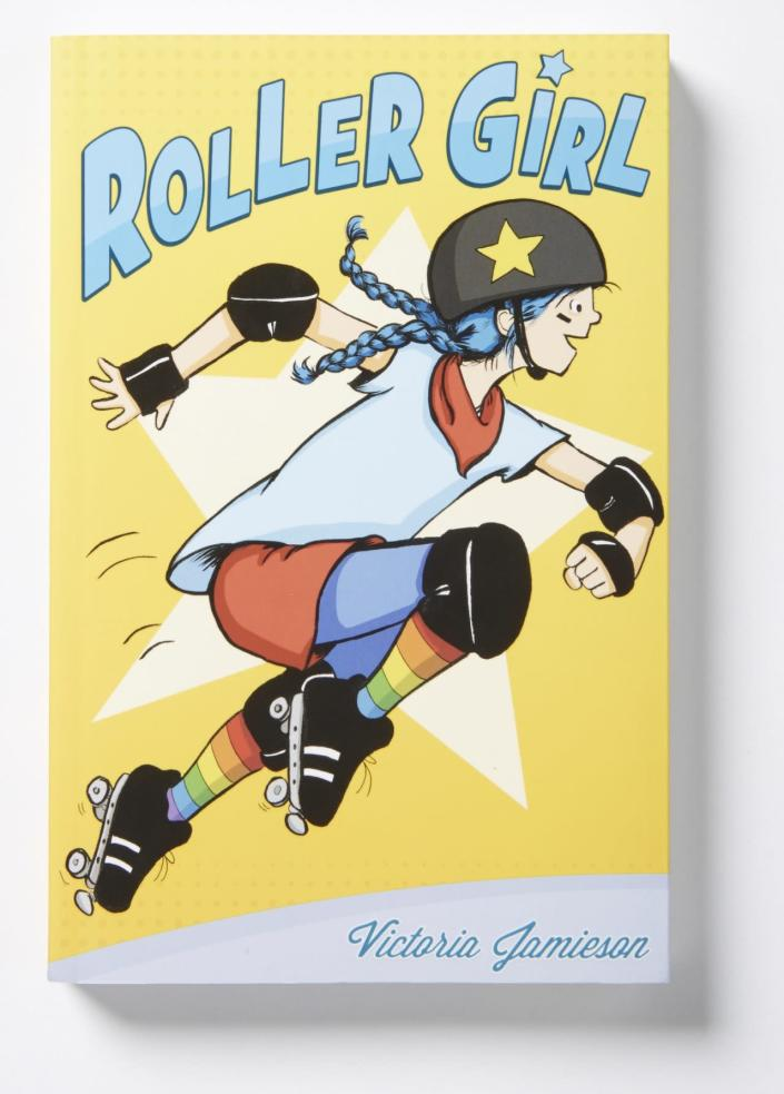 "<p>Tweens will identify with the main characters and realistic dialogue, and get a kick out of the illustrations, Cicero writes. <a href=""http://www.amazon.com/Roller-Girl-Victoria-Jamieson/dp/0803740166/ref=sr_1_1?s=books&ie=UTF8&qid=1446750581&sr=1-1&keywords=roller+girl"" rel=""nofollow noopener"" target=""_blank"" data-ylk=""slk:Buy"" class=""link rapid-noclick-resp"">Buy</a> for kids ages 7 and up. <i>(Photo: Dial Books)</i></p>"